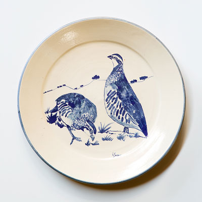 Pair of Quails