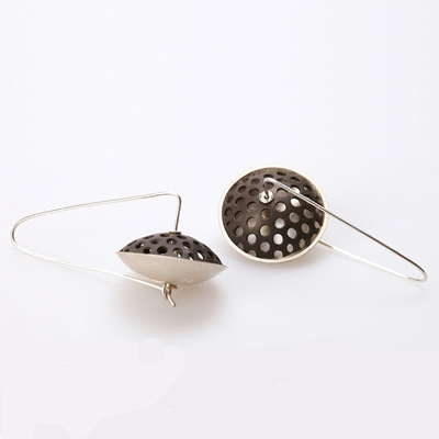 Perforated Pod Earrings
