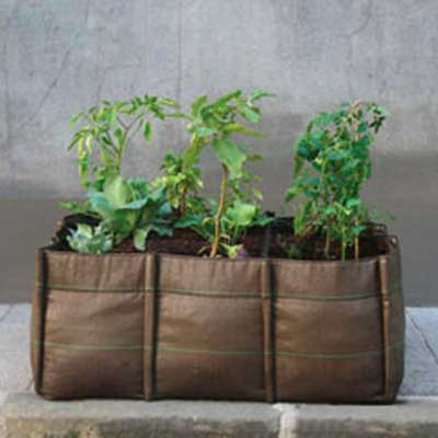 9 Quadrant Square Planter