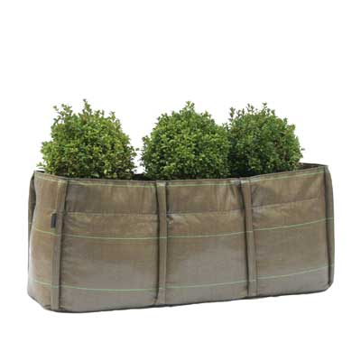 3 Quadrant Long Planter