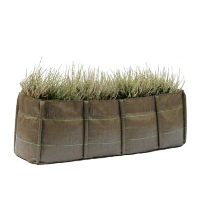 4 Quadrant Long Planter
