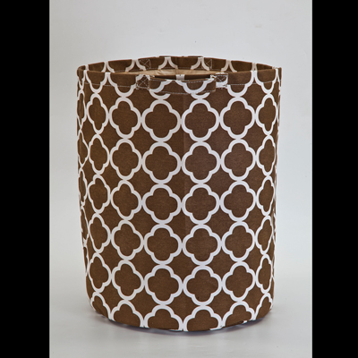 Brown Link Storage Basket