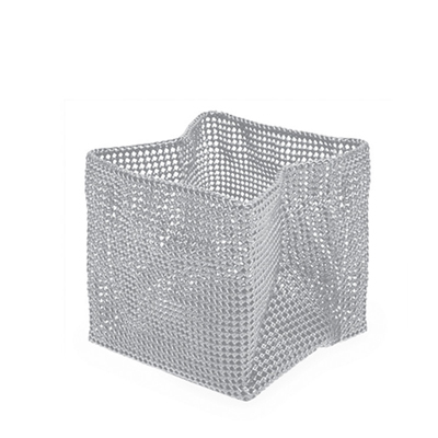 Silver Medium Basket