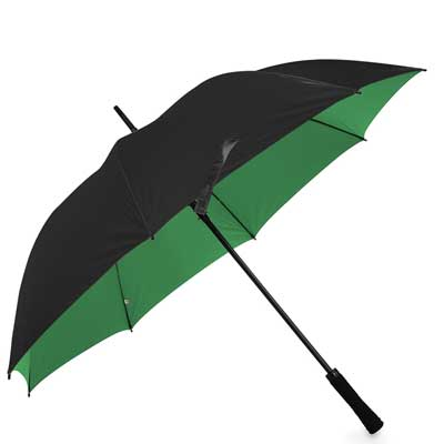Golf Automatic Umbrella Black/Emerald