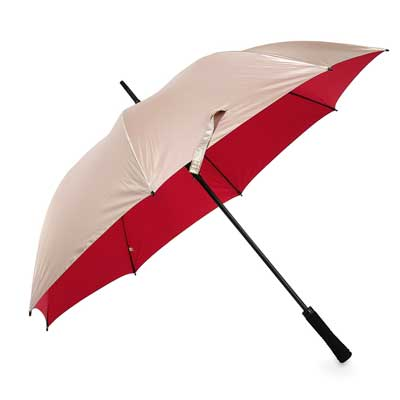Golf Automatic Umbrella Gold/Red