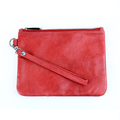 Red Tulum Clutch