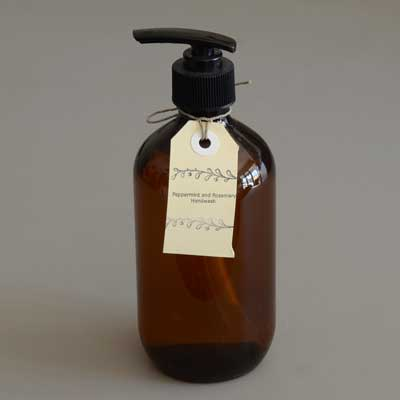 Peppermint and Rosemary Handwash