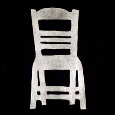 Chair Brooch