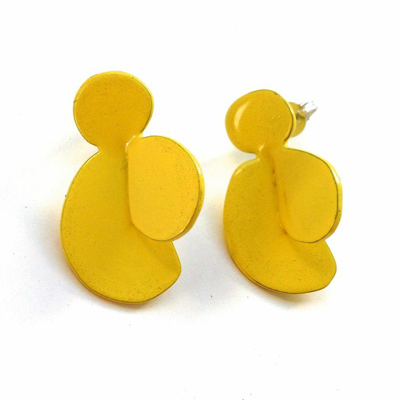 Yellow Leaf Studs