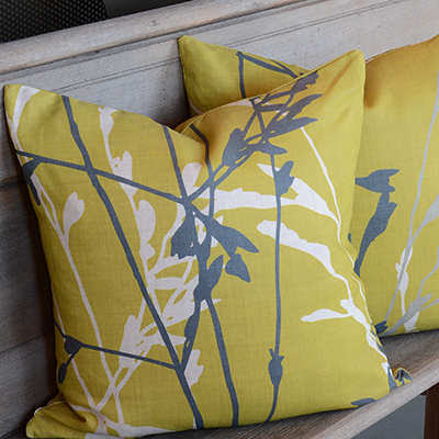 Feather Grass Cushion 2