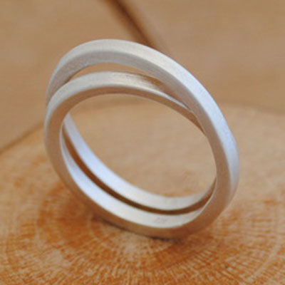Bent & Twisted Ring