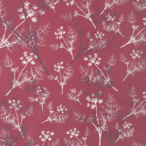 Red Fennel Fabric
