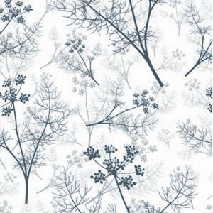 Grey Fennel Wallpaper