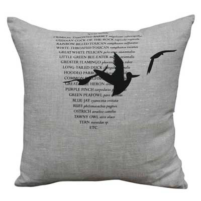 3 Birds Cushion