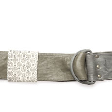 Denim Ring Belt