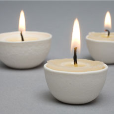 Candles / Candle holders