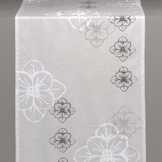 White Flower Runner