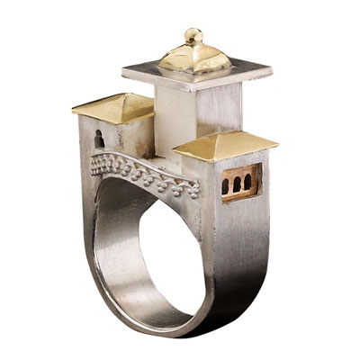 Ring With Gold Roof