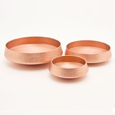 Copper Serving Dishes
