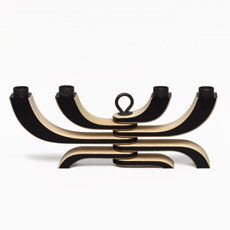 4 Arm Candelabra (Black)