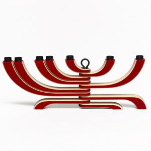7 Arm Candelabra (Red)