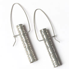 Blossom Sterling Tubo Earrings
